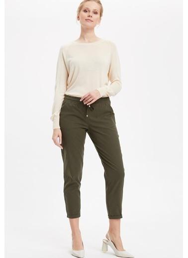 DeFacto Pantolon Yeşil